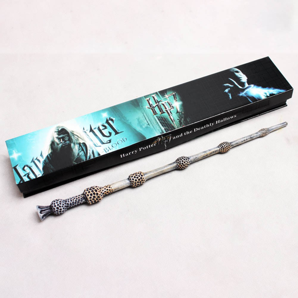 Toys & Hobbies Colsplay Metal Core Newest Quality Deluxe Cos Voldemort Magic Wands/stick With Gift Box Packing Harry Potter To Rank First Among Similar Products Classic Toys