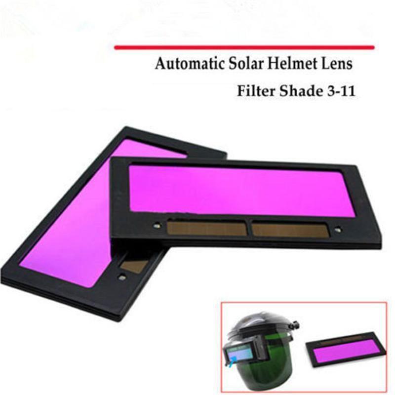Welding Helmet Lens Filter Shade DIN 3-11 Solar Auto Darkening