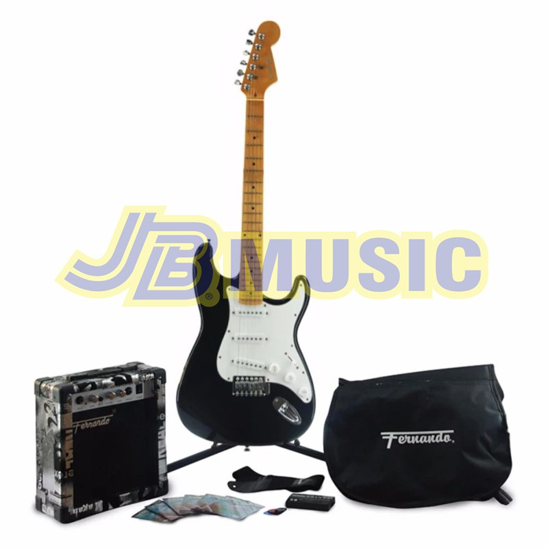Fernando Ast 330s Strato Electric Guitar Metal Red Shopee