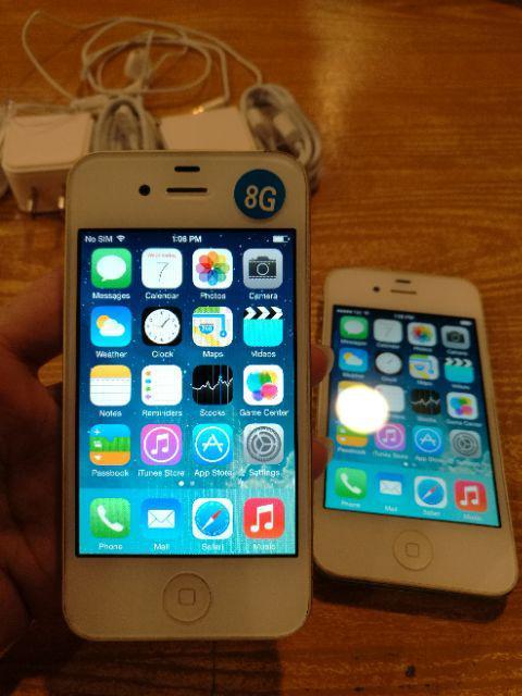 Original_Iphone4_secondhand iphone ios mobile 8G cellphone