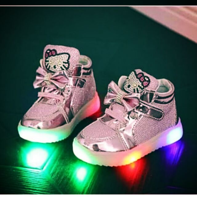 Hello Kitty Shoes Hello Kitty LED Shoes | Shopee Philippines