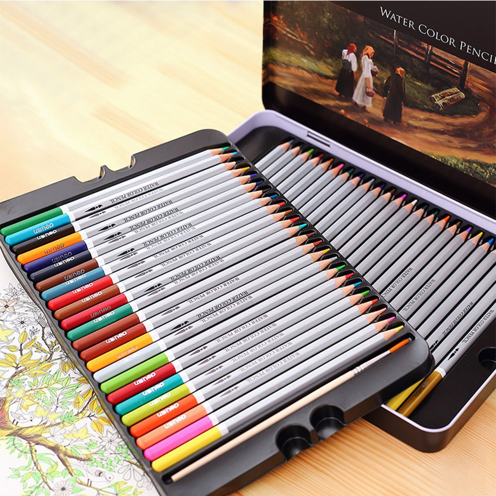24 colors water colored pencil watercolor pencils set for kids painting s480 shopee philippines