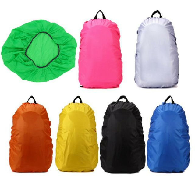 TRAVEL CAMPING REFLECTIVE BACKPACK RAIN COVER WATERPROOF BAG PROTECTOR BLING