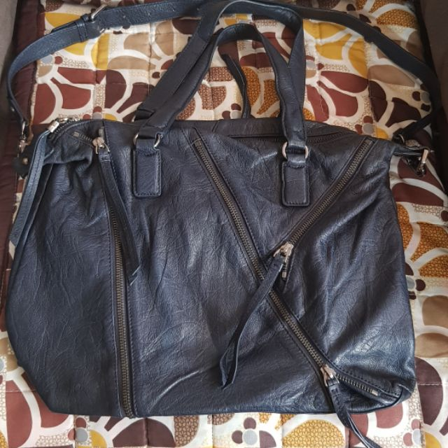 Sale Breal Preloved 2 Way Leather Bag Shopee Philippines