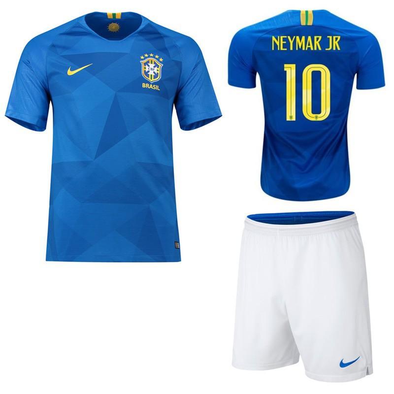 sale retailer c9133 dfd34 World Cup Brazil Neymar JR kit soccer Jersey Football shirts