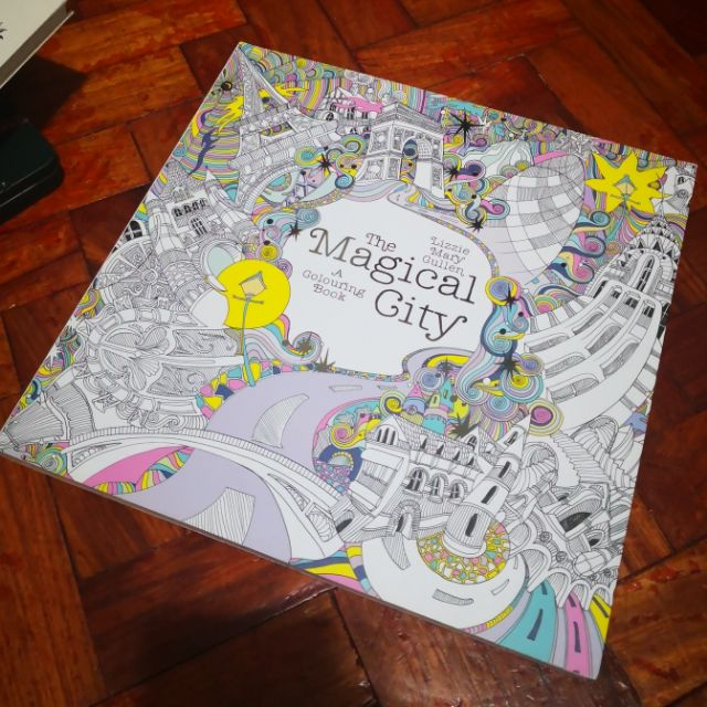 SALE!!! The Magical City Coloring Book