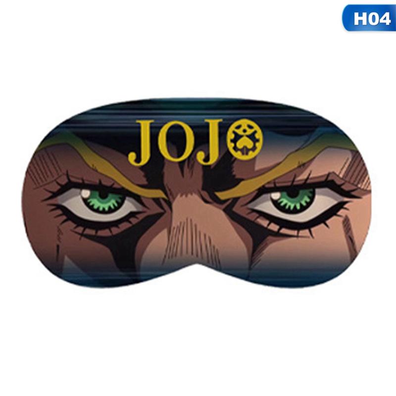 JoJo/'s Bizarre Adventure Eye mask Eyeshade Sleeping Aid Eyepatch Cosplay prop