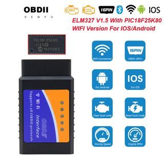Super ELM327 Wifi OBD2 V1.5 Elm 327 V 1.5 Auto Scanner Diagnose für Ios Andr …
