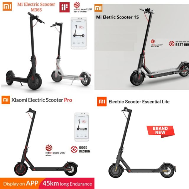 Xiaomi Mijia Mi Electric Scooter Pro 2 Or 1s Or Lite Or Pro Or M365 Shopee Philippines