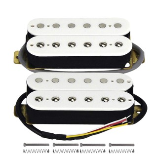 Alnicov Guitar Single Coil Pickups Neck /& Bridge Set Copper Pickup for Electric Guitar with Mounting Screws-Chrome
