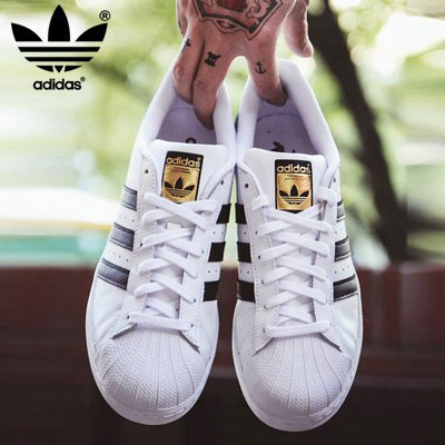 de4debc6ba9 Original Adidas superstar Gold standard shell head shoes | Shopee  Philippines