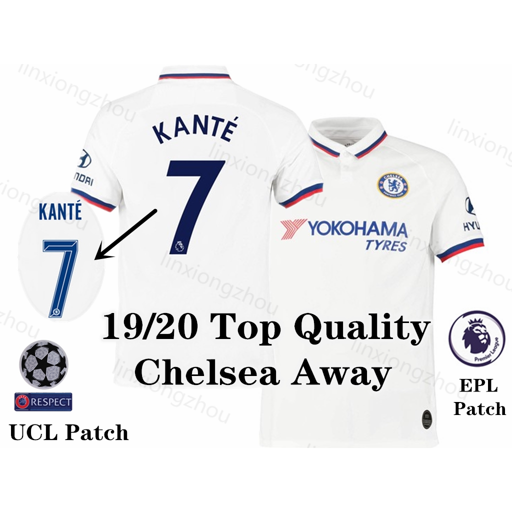 new styles 74651 0d93d Top Quality 19/20 Chelsea Away Jersey Soccer Jersey Football Jersey