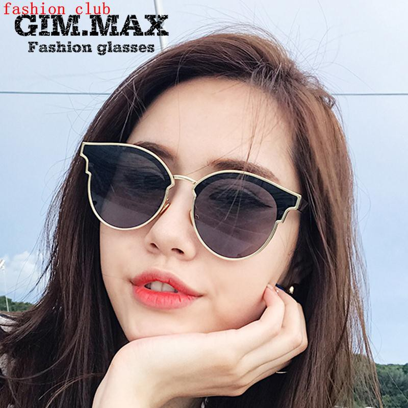 8b262acd1cc 2017 new Korean sunglasses female blue ocean legend red star with round  bright personality sunglass