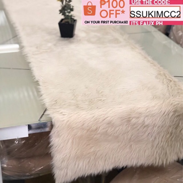 Faux Fur Table Runner Sho Philippines