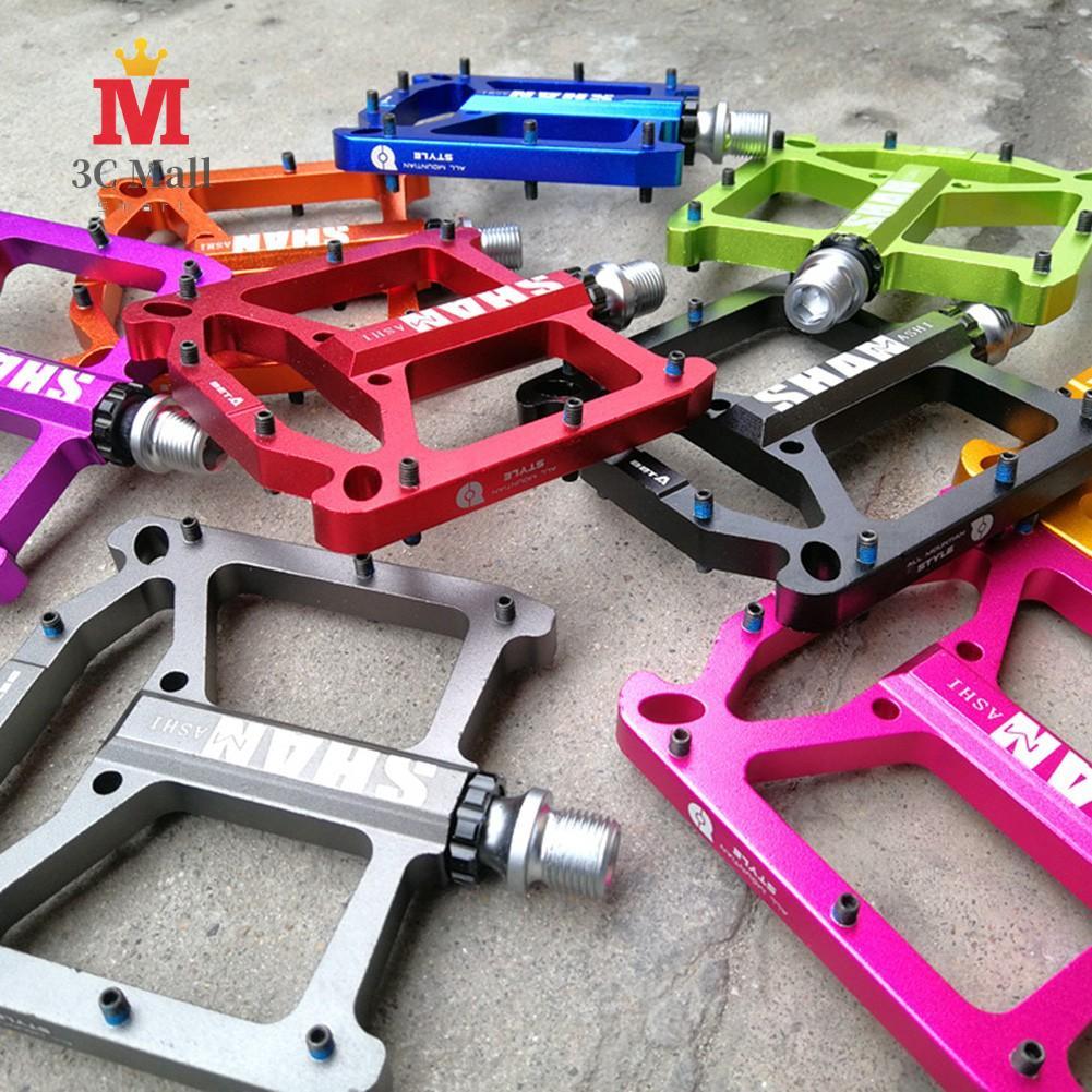 Details about  /2pcs Road MTB  Bike Pedals Durable Flat Pedal DU+Bearings lightweight Pedal