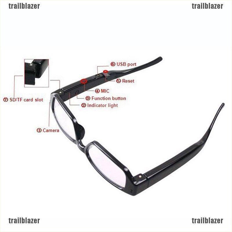 HD 720P Spy Hidden Half Frame Glasses Camera DVR Video Recorder Eyewear Camera