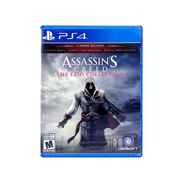 Playstation Ps4 Assassin S Creed Ezio Collection R1 Shopee