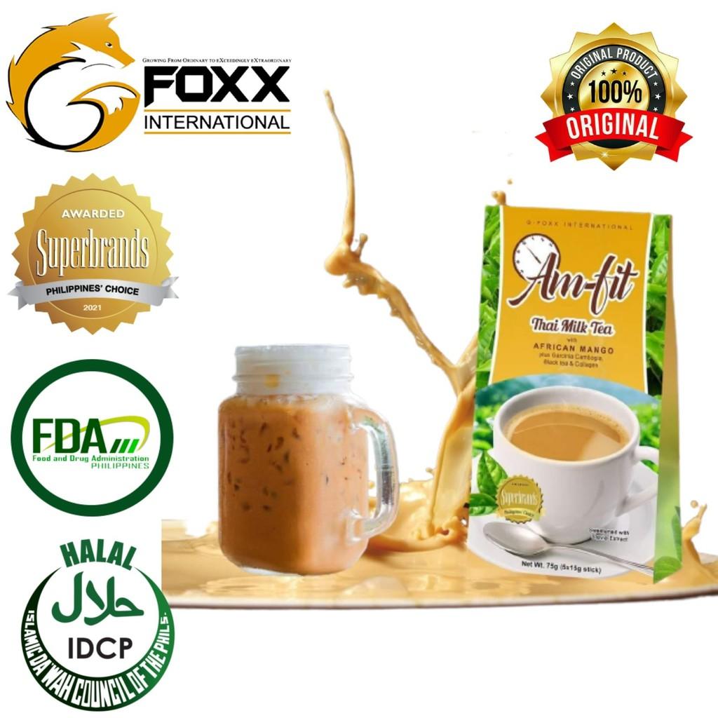 32 Authentic Am fit Thai Style Milk Tea with African Mango Plus Garcinia C