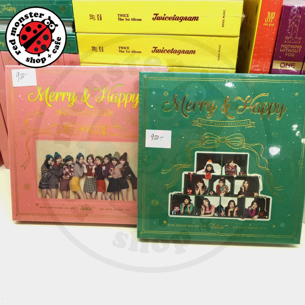 Twice - Merry & Happy First Album Repackage (NO POB/NO POSTER)