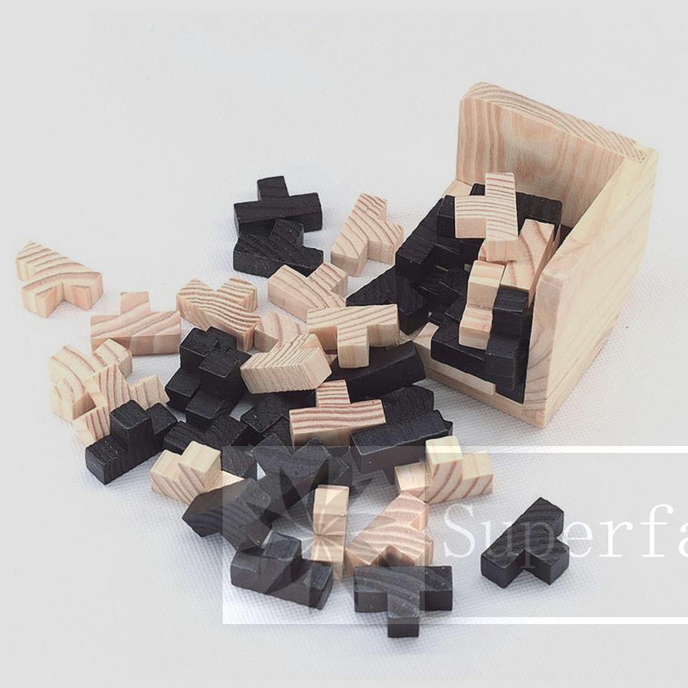 Educational Intelligence Mind Game Chinese Box Lock Puzzle Brain Teaser Toy