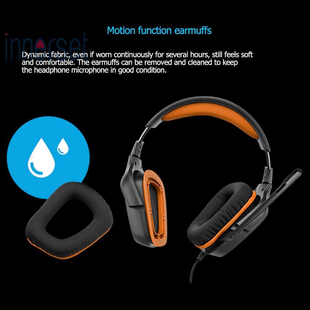 0333fcabe84 ProductImage. ProductImage. @INS Logitech G231 Prodigy Gaming Headset with  Folding Mic ...