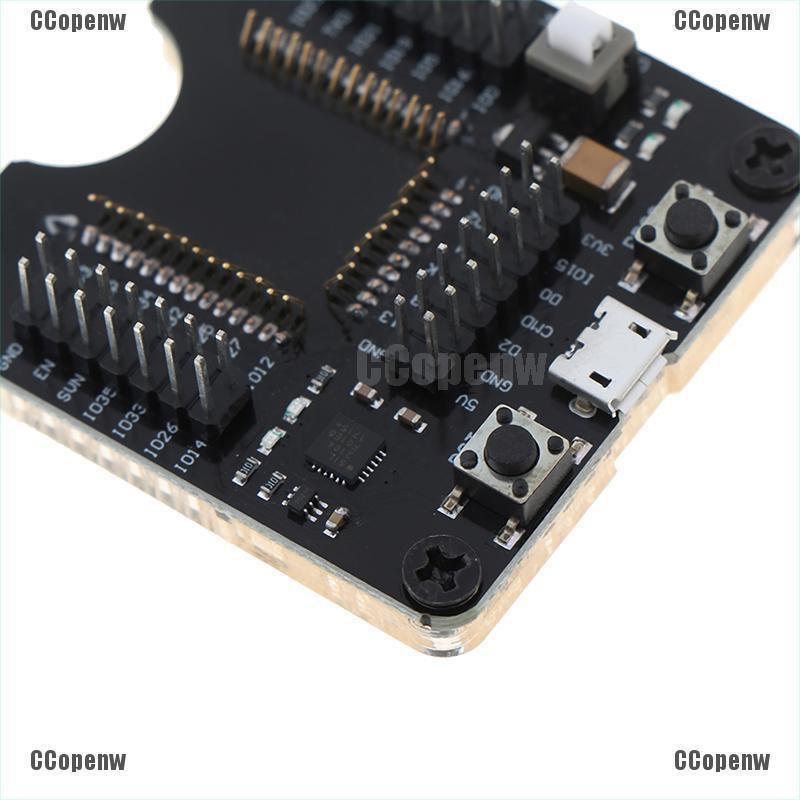 US 2Pcs Programmer Tool ESP32 Adapter Socket For ESPRESSIF ESP-WROOM-32 Module