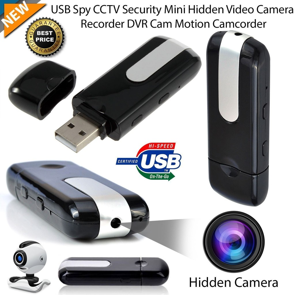 USB Thumb Drive Hidden Spy Camera Camcorder Motion Detector DVR Video Recorder