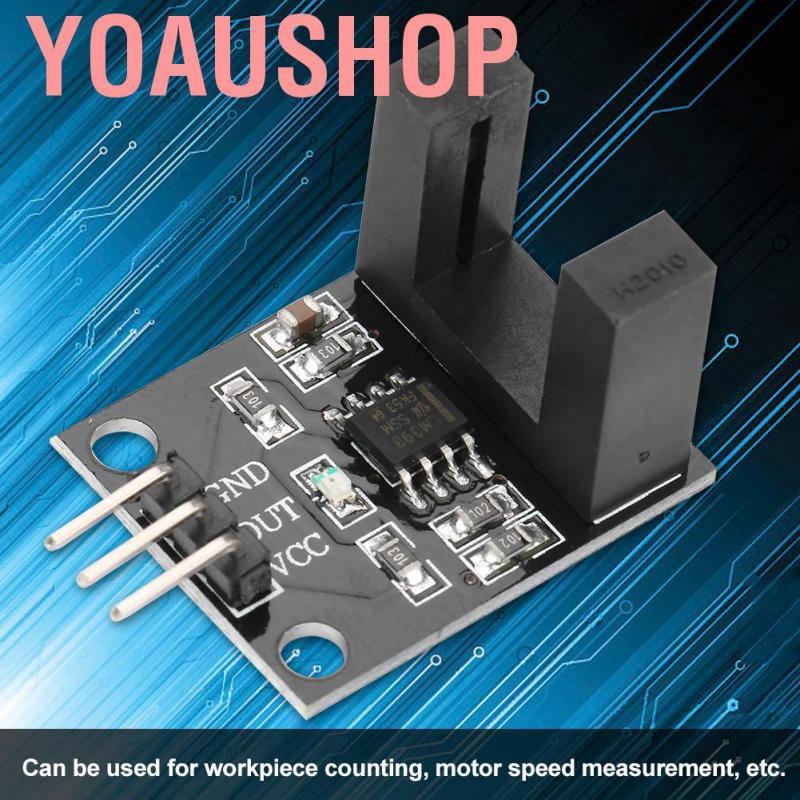 DC5V LM393 H2010 Photoelectric Opposite Type Infrared Sensor Module For Arduino