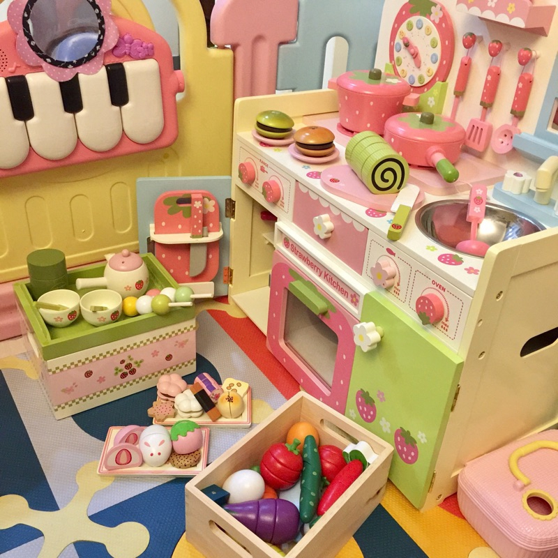 Pretend Play Kitchen Toys Cooking