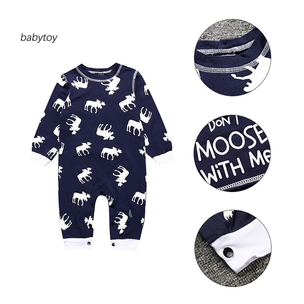 Baby Boy Jumpsuit Moose Silhouette-1 Toddler Jumpsuit