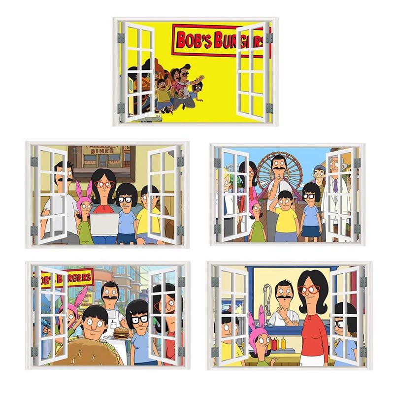 Linda Belcher Quote Vinyl Decal Wall//Window Sticker Bob/'s Burgers