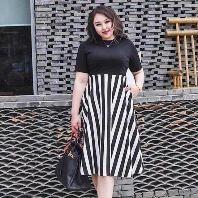 Plus size casual dress (actual picture | Shopee Philippines