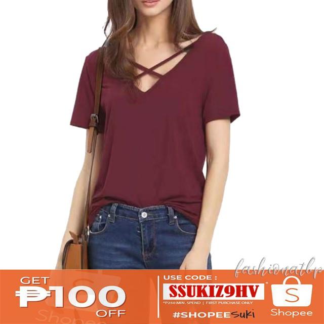 787fa80b39f Shop Tops Online - Women's Apparel   Shopee Philippines