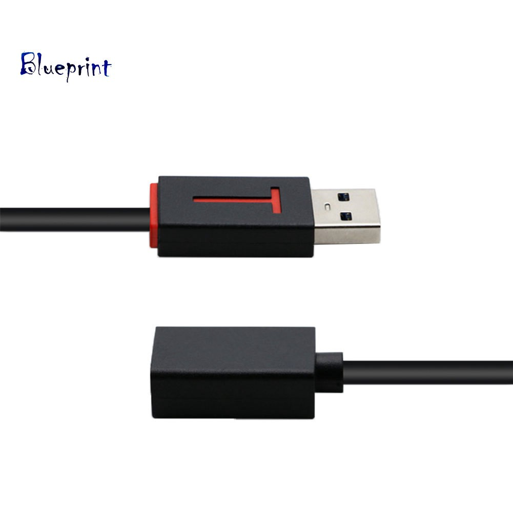 Gimax Male to Female Extension Cable Universal USB 3.0 Extension Cable 1m High Speed M//F Male To Female Wire data Connector Adapter