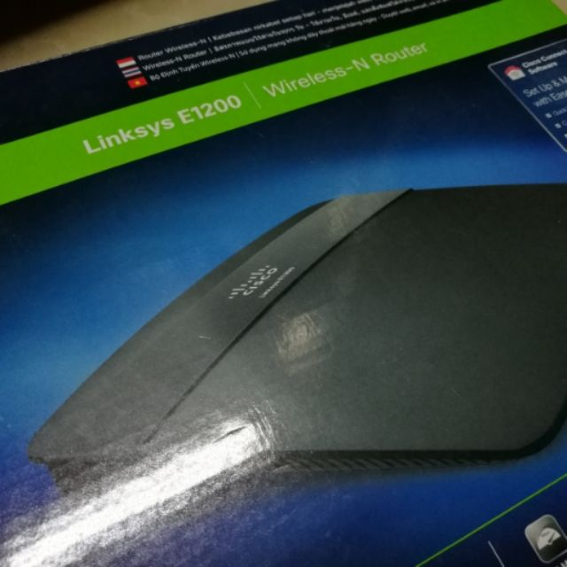 Linksys E1200-AP Wireless N Router