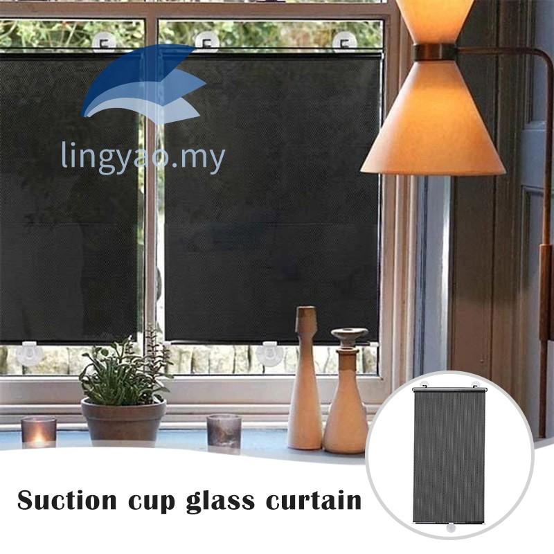 Starmood Suction Cup Window Shade Visor No Drilling Car Home Bathroom Sunblind Sun Shade