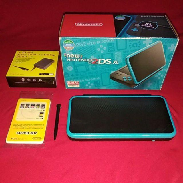 Nintendo New 2dsXL Black x Torquoise
