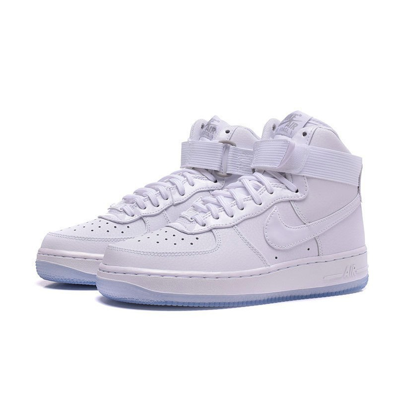 quality design 5b474 3fc94 cod nike Air Force 1 High AF1 WoPRM All White
