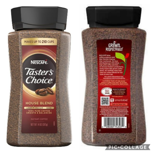 Nescafe Taster S Choice 397g 14oz 210 Cups Shopee Philippines