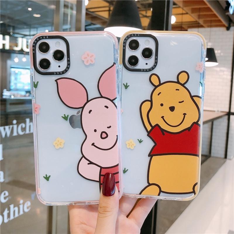 PINKMOVIL Carcasa iPhone 11 Licencia Disney Winnie The Pooh Cord/ón