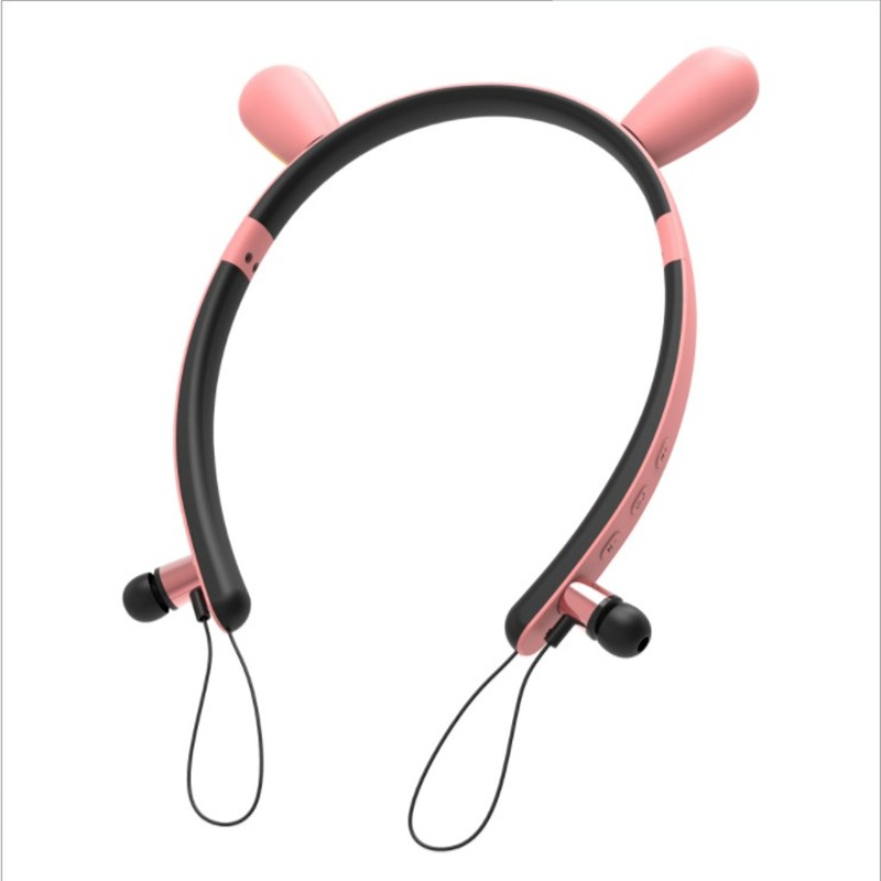 Rabbit Ear Wireless Bluetooth Headband Earphones Shopee Philippines