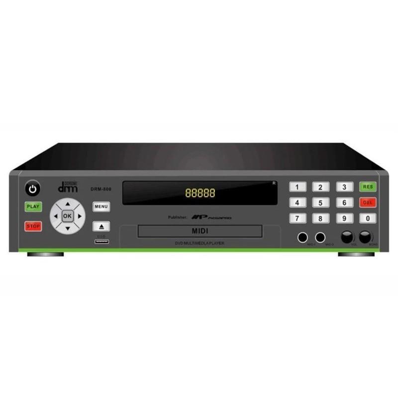 Megapro D-800 DVD Karaoke Multimedia Player With Free Mic