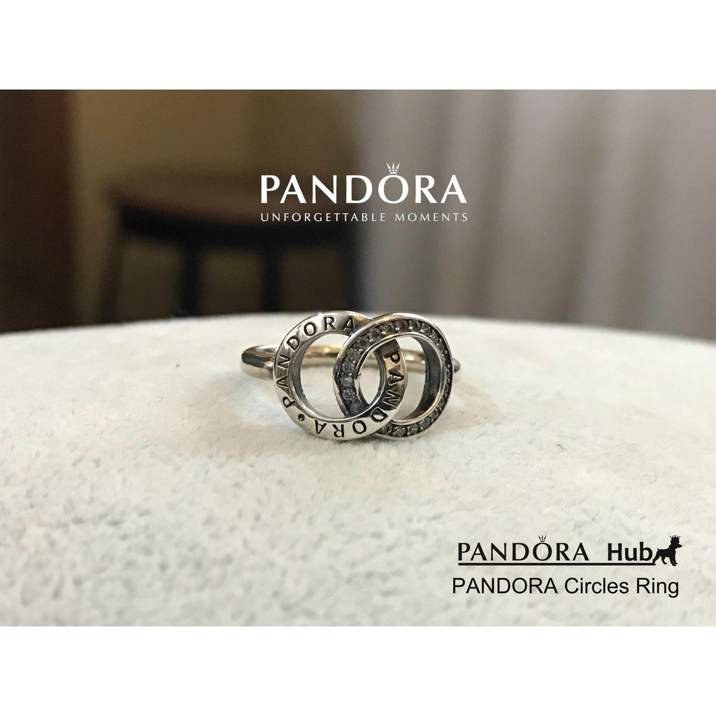 5776a65fd Pandora Circles Ring   Shopee Philippines