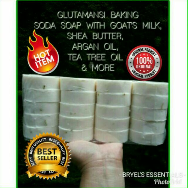 PREMIUM GLUTAMANSI BAKING SODA WITH GOATS MILK NA!!!