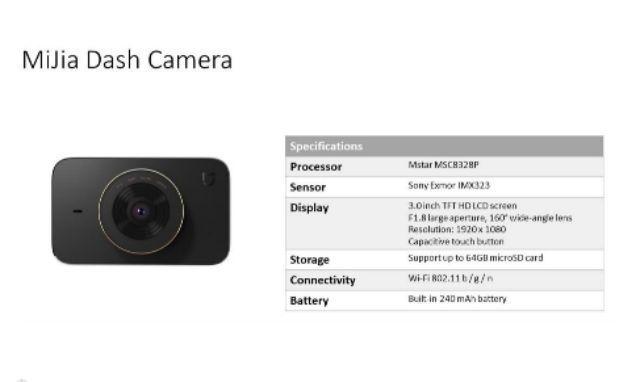 Xiaomi MiJia Dash Cam Global Version | Shopee Philippines