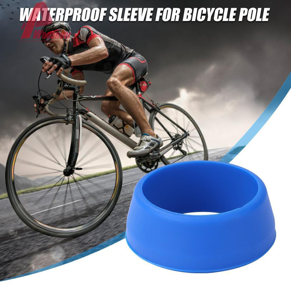 Protective Handlebar Seat Post Ring Waterproof Dust Cover for Mountain Bike