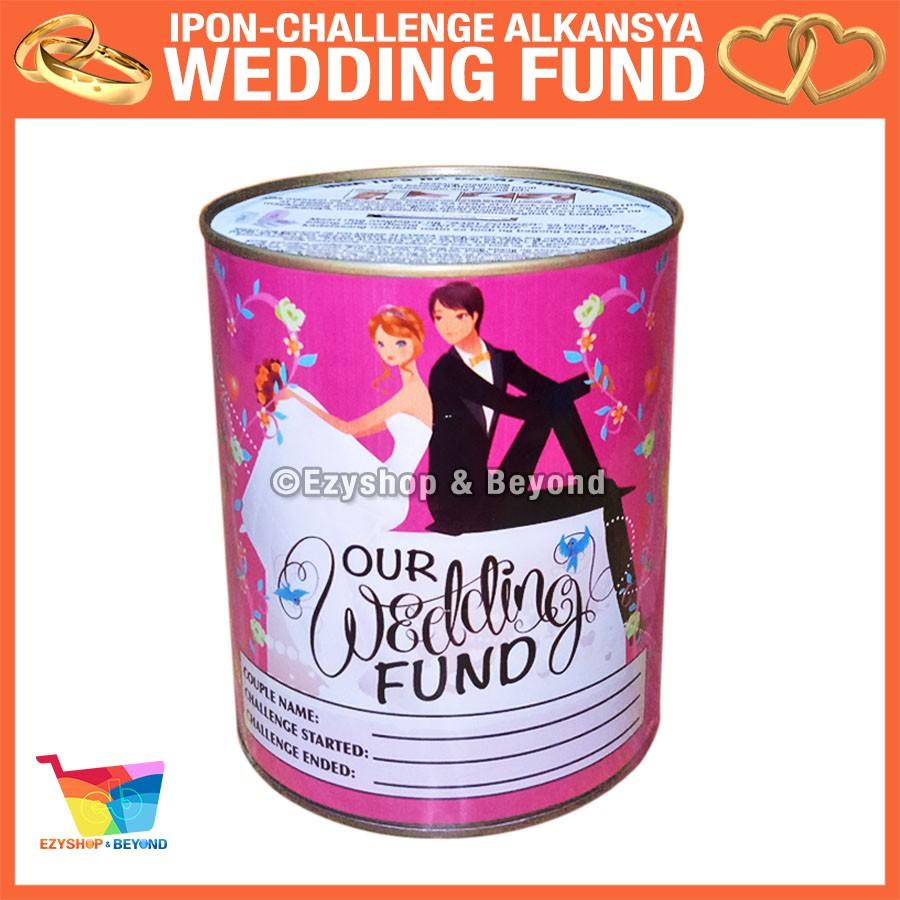 Wedding Fund-4 Ipon Challenge Coin Bank Alkansya by Ezyshop