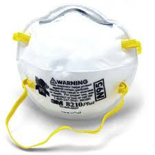 Face Dust 10's Mask Respirator 8210 N95 3m Particulate