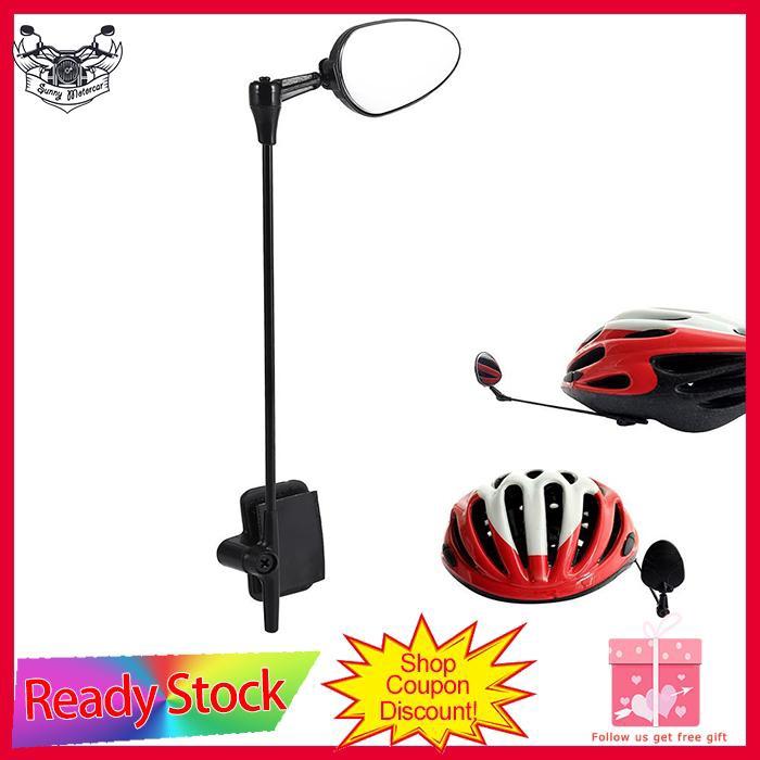 Durable ABS Helmet Rear View Mirror Safety Mountain Road Bike Adjustable Mirror