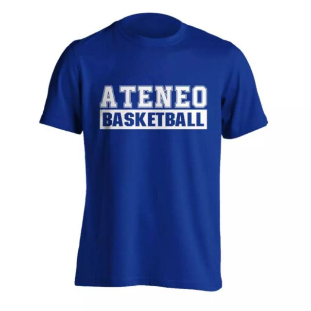 huge selection of 2b3f9 d2b13 Ateneo Basketball Shirt UAAP University Shirt(Blue)